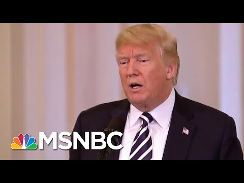 Trump Says 39Fake News39 He Would Meet With Iran With No Preconditions  Morning Joe  MSNBC