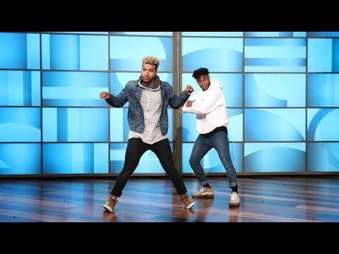 Dancers BDash and Konkrete Hit the Floor