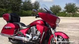10. Used 2013 Victory Cross Country Tour  Motorcycles for sale