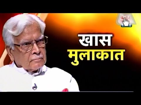 Special interview with Natwar Singh 31 July 2014 08 PM