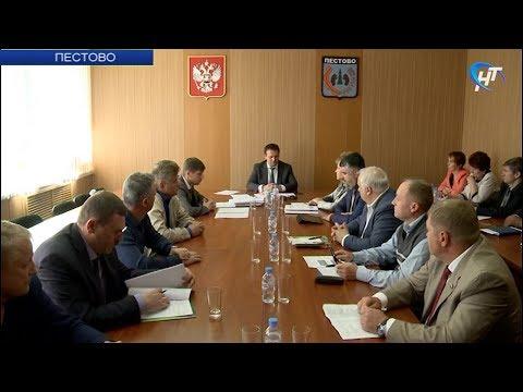 Андрей Никитин посетил Пестовский район с рабочим визитом