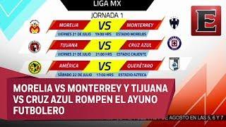 La espera terminó y la Liga MX está de regreso, con Monarcas Morelia y Rayados del Monterey como los encargados de dar inicio al Torneo Apertura 2017. 21 julio de 2017 * TE RECOMENDAMOS ESTE VIDEO: Ares de Parga no descarta un refuerzo más para Pumashttps://youtu.be/lWx0ckm8OCICOMÉNTALO Y COMPÁRTELO CON TUS AMIGOS-------------------------------------------* Para más información entra: http://www.youtube.com/excelsiortv* No olvides dejarnos tus comentarios y visitarnos en: Facebook: https://www.facebook.com/ExcelsiorMexTwitter: https://twitter.com/Excelsior_MexSitio: http://www.excelsior.com.mx/tv--------------------------------------------* Suscríbete a nuestro canal de YouTube: http://www.youtube.com/channel/UCpIKausFhG465rFRI07KA9Q