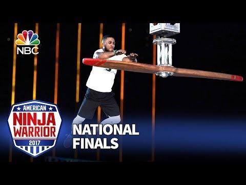 JJ Woods at the Las Vegas National Finals: Stage 1 - American Ninja Warrior 2017
