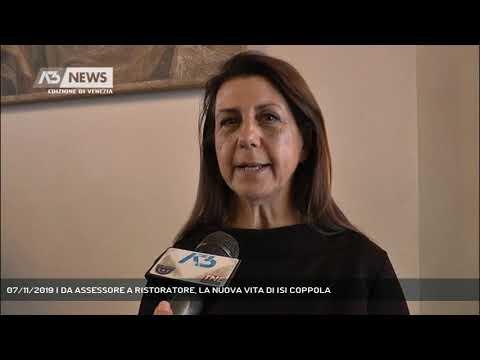 07/11/2019 | DA ASSESSORE A RISTORATORE, LA NUOVA VITA DI ISI COPPOLA