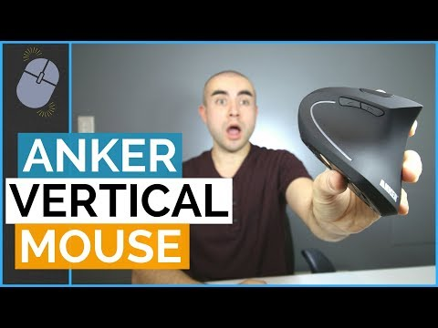 Anker Vertical Mouse Review - An Ergonomic Mouse For Wrist Strain