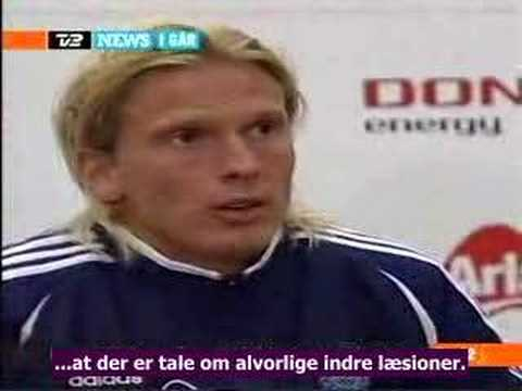 Entrevista depués del partido