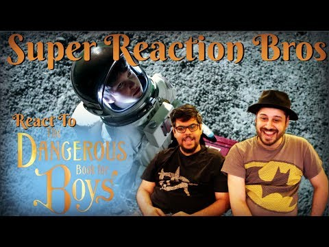 SRB Reacts to The Dangerous Book for Boys Official Trailer