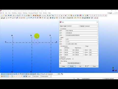 Hướng dẫn Tekla Structures 20 - Bài 1