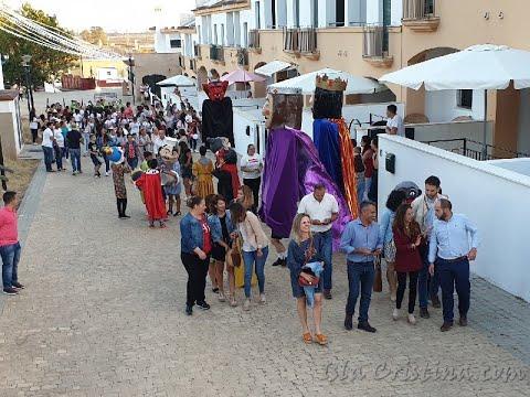 Inauguración del Alumbrado de Pozo del Camino. Fiestas en honor a María Auxiliadora.