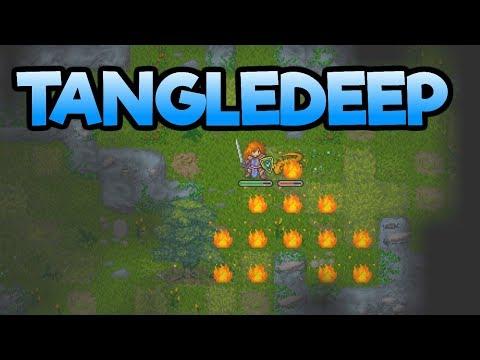 Tangledeep - New BEAUTIFUL Roguelike! - Let's Play Tangledeep Gameplay