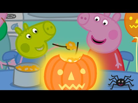Peppa Pig Official Channel 🎃 Peppa Pig's Pumpkin Party