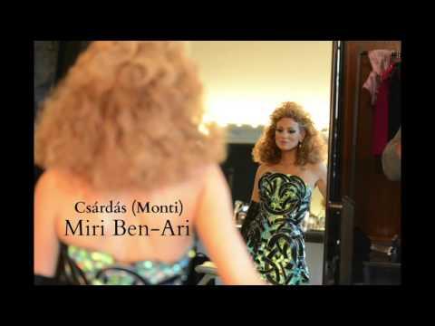 Miri Ben-Ari plays Monti Csardas