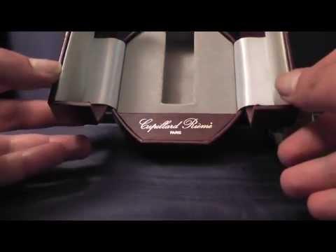 Scatola per orologio Cupillard Paris anni '80