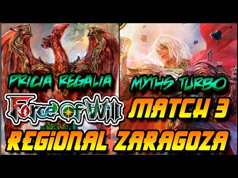 Force of Will  Zaragoza Regional GP Ronda 4 Game 3