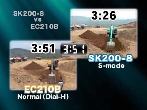 SK200 vs VOLVO