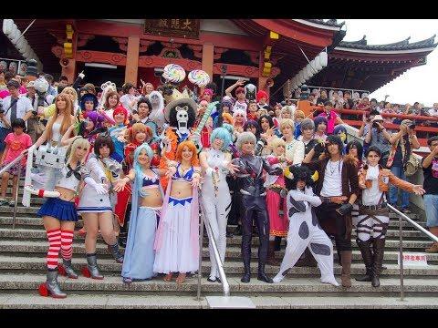 Lễ Hội Cosplay Rực Rỡ Tại Nhật Bản