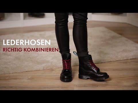 Wie man Lederhosen richtig kombiniert » How To Wear | STYLIGHT