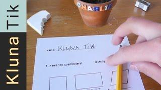KLUNA gets HUNGRY during homework - Kluna Tik Dinner #12 | ASMR eating sounds no talk