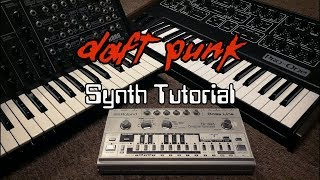 Daft Punk Synth Tutorial