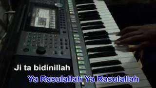 Video Ya Habibal Qolbi Karaoke Yamaha PSR MP3, 3GP, MP4, WEBM, AVI, FLV Juli 2018