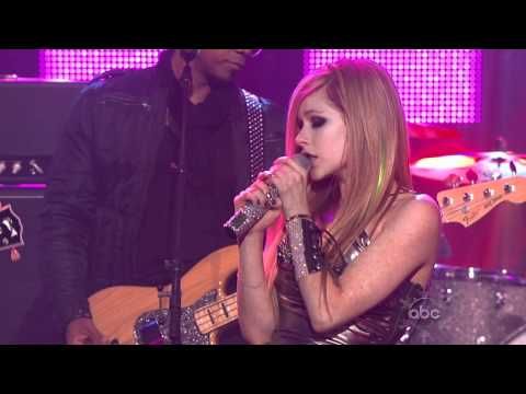 Avril Lavigne - What The Hell    Live  HD 720p