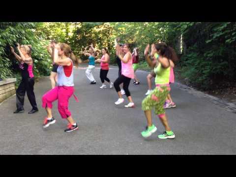 video zumba anieres N°3 21/06/2014