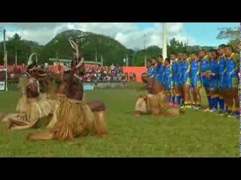 Niue vs Vanuatu 2013 (Pre Game – 1st Half – Part 1)