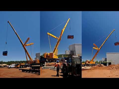 Timberline Erectors Install Comact Wave Feeder