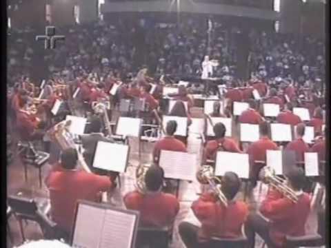 Bernstein: Abertura Candide - Roberto Tibiriçá - Orquestra de Bolsistas - Campos do Jordão 1999
