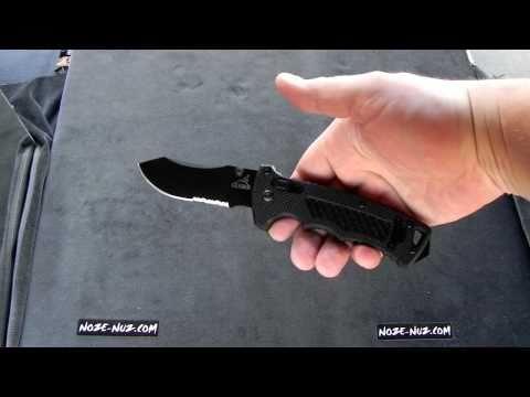 Відеоогляд тактичного ножа Gerber DMF Folder