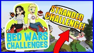 THE STRANDED CHALLENGE!? | Bedwars Challenges #4 | With NettyPlays