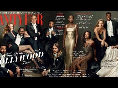 Vanity Fair praised for diverse cover