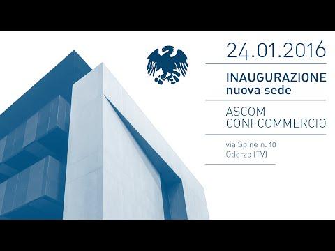 24.01.2016 - La nuova casa Ascom di Oderzo: innovazione, tecnologie e scelte sostenibili al servizio delle imprese e del territorio.