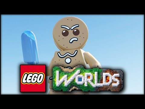 LEGO WORLDS! EPISODE 13 - Gingerbread man!