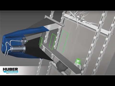 Animation: HUBER Safety Vision system for impurity detection