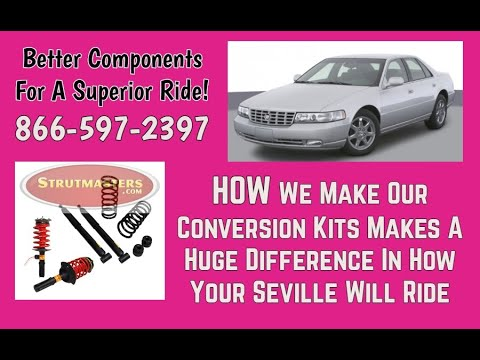 1993 Cadillac Seville 4.9L 4-Wheel Front Air Suspension Conversion Kit Build