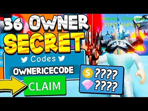 ALL 36 SECRET OWNER CODES IN UNBOXING SIMULATOR! Roblox *INSANE BOOSTS*