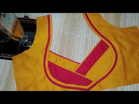 Video Easy patch work blouse designs cutting and stitching download in MP3, 3GP, MP4, WEBM, AVI, FLV January 2017