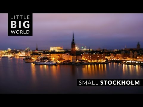 Time Lapse Video of Stockholm Cool