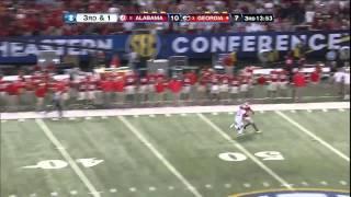 12/01/2012 Georgia vs Alabama Football Highlights