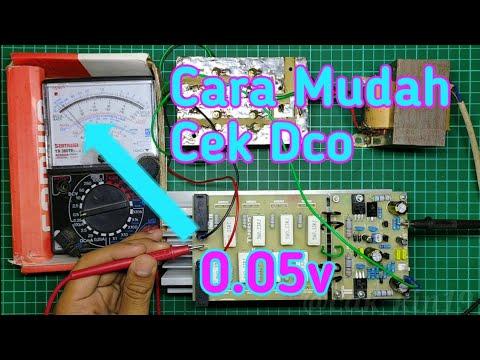 Cara Cek DCO dan Bias Driver Power Amplifier