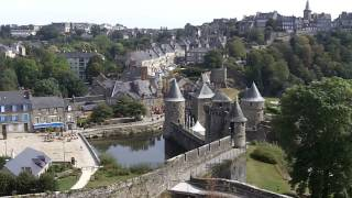 Fougeres France  city photo : Chateau de Fougeres, Brittany, France.