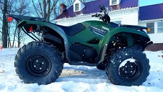 2. 2019 Yamaha Kodiak 700 first impression