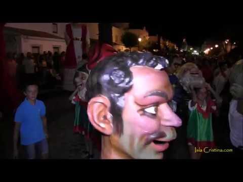 Encendido del Alumbrado de las Fiestas del Carmen de Isla Cristina 2017