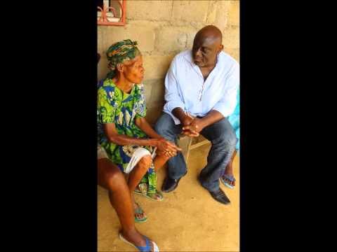 Christmas Ebini visits Mrs Ruben Um Nyobe