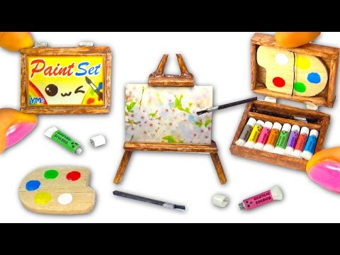 Mini art set снимок