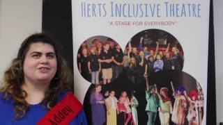 Shelly's Herts Inclusive Theatre Marathon Video No.1