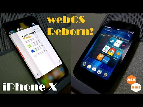 The new iPhone X! webOS Reborn?