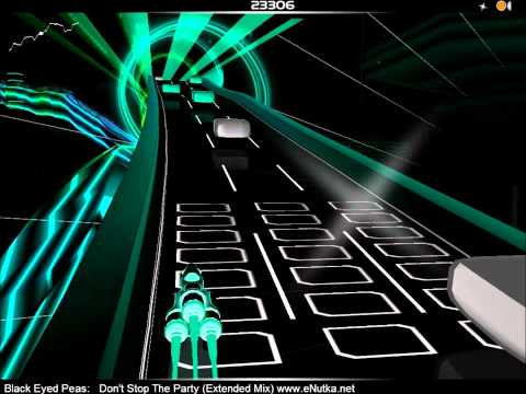Black Eyed Peas - Don't Stop The Party (Extended Mix) - AudioSurf