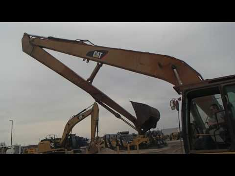 CATERPILLAR EXCAVADORAS DE CADENAS 324EL equipment video W1xqfhyXdIk